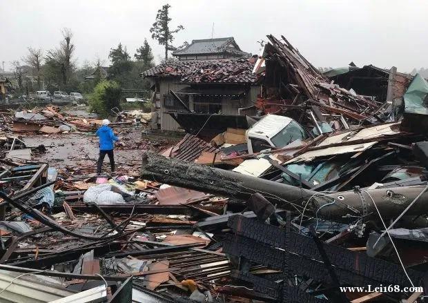"""台风""""海贝思""""侵袭日本 已致19人死亡16人失踪"""