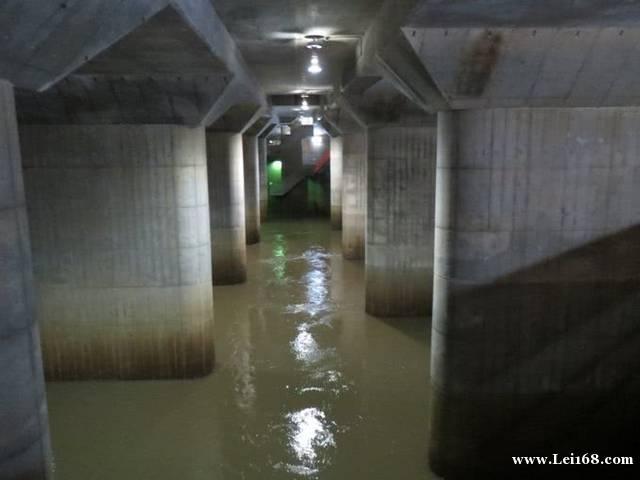 """日本""""地下神殿""""4年来首次全面启动 3天排光1000万吨洪水"""