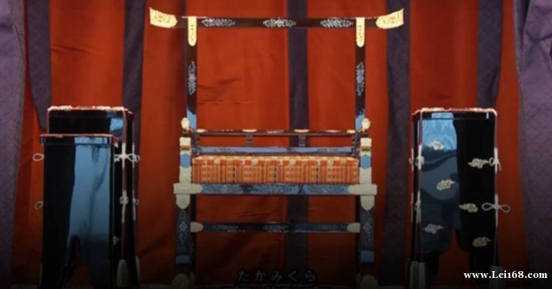"""日本新天皇即位仪式""""龙椅""""曝光:重达8吨"""