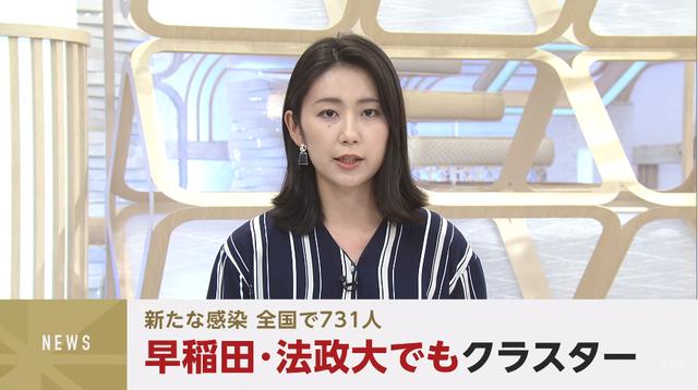 东京感染人数累计确诊达3万多例,早稻田等日本大学集体感染大爆发...
