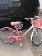 出售8岁~12岁儿童自行车八成新。