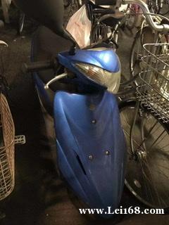 处理小摩托车