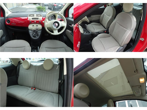 Fiat 500C 赤紅熱賣